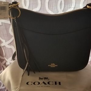 Ladies Coach Crossbody Bag. Peacock Multi Colored.